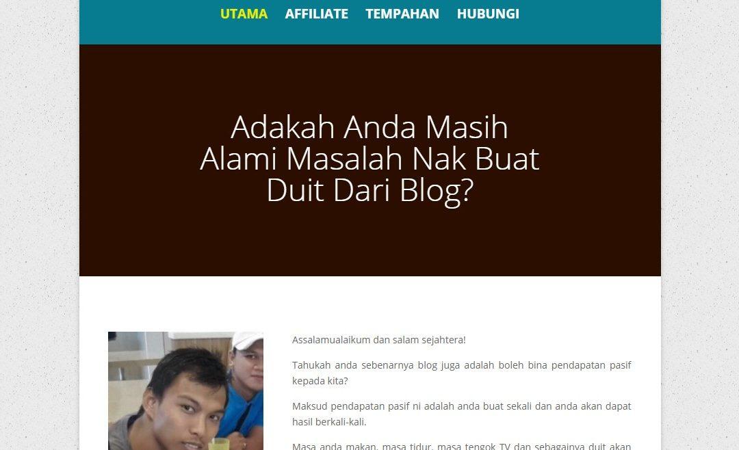 Buat Duit Blog – Servis Buat Minisite