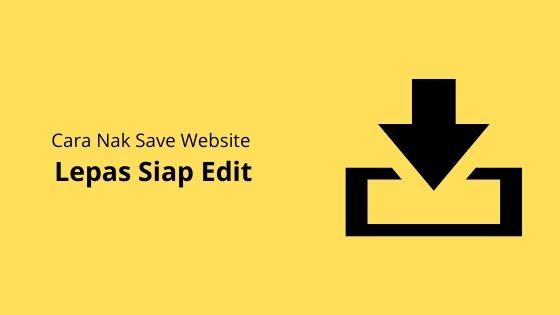 Cara Nak Save Website Lepas Siap Edit (Divi Tutorial)
