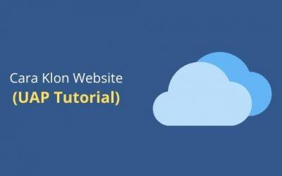 Cara Duplikasi Website Ahli (UAP Tutorial)