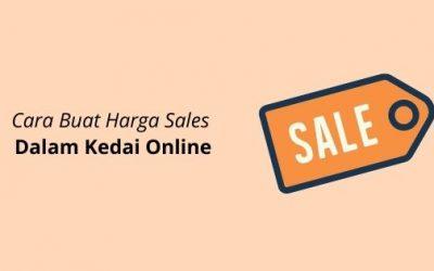 Cara Buat Harga Sales Dalam Kedai Online (Woocommerce)